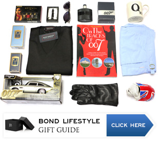 james bond gift ideas