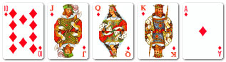 Probability of getting royal flush in texas holdem