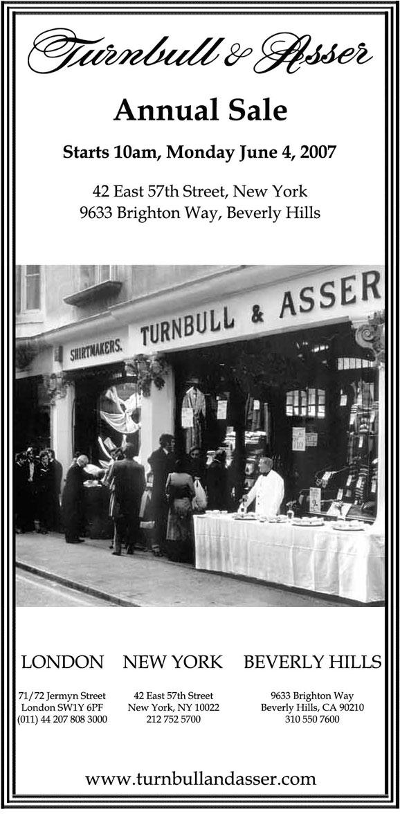 turnbull asser sale
