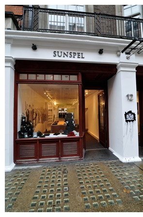 sunspel store james bond london