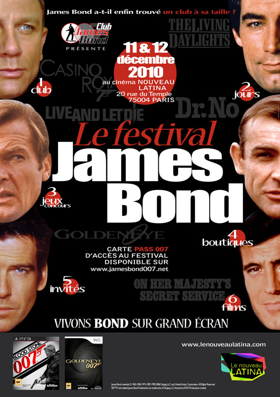 james bond france nouveau latina