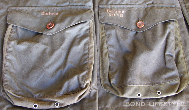 Barbour X To Ki To Commander Dept B embroidered logo