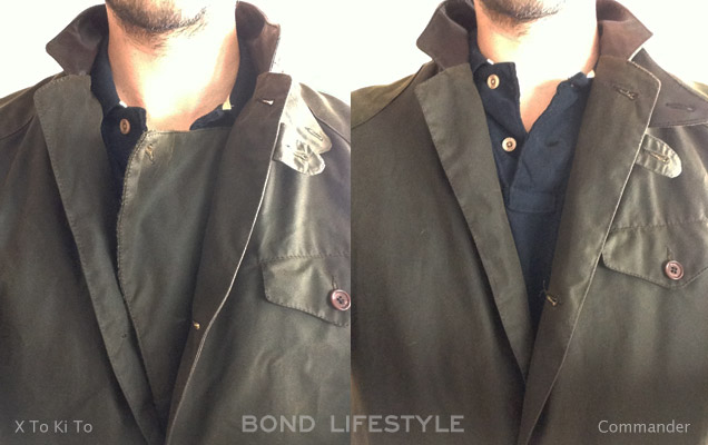 Barbour X To Ki To Commander flap 2
