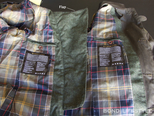 Barbour X To Ki To Commander flap