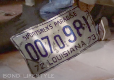 007 981 license plate jaws