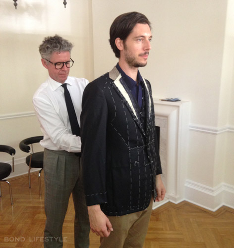 Anthony Sinclair David Mason Remmert van Braam fitting