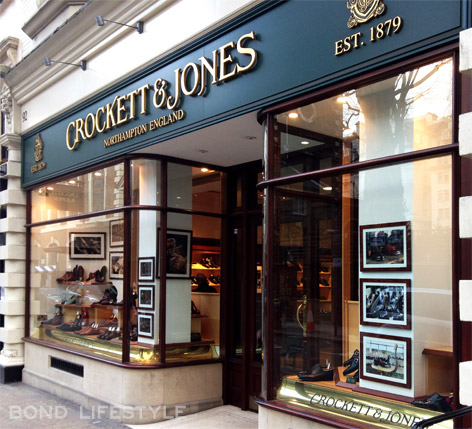 Crockett & Jones 92 Jermyn Street London