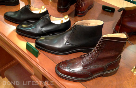 Crockett & Jones shoes in SkyFall