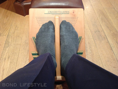 Crockett & Jones fitting shoes