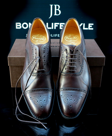 Ordering Church's shoes online | Bond