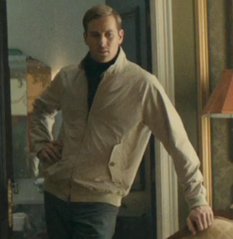 armie hammer the man from uncle baracuta jacket light