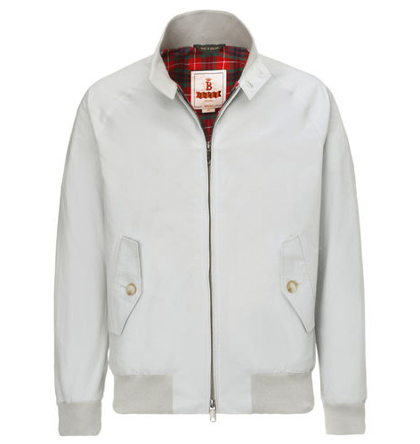 Baracuta G9 Harrington in McQueen Stone