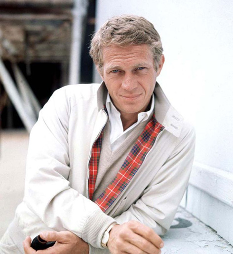 Steve McQueen Baracuta G9 Harrington jacket