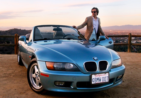 Brad Hansen and his BMW Z3