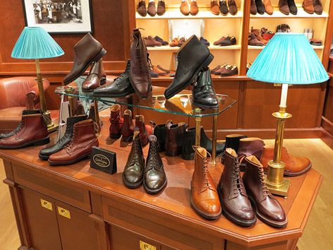 crockett & jones jermyn street interior