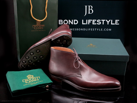Crockett & Jones Tetbury brown James Bond Lifestyle