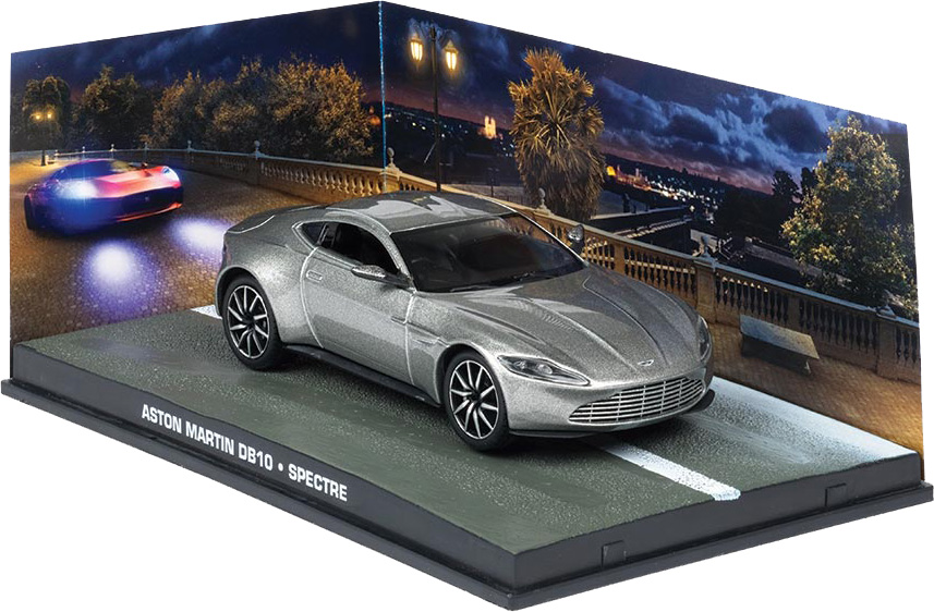 ... Created By Eaglemoss, Is Launched Throughout 2017 In Different Regions  Around The World And Includes An Aston Martin DB10 1:43 Scale Model.