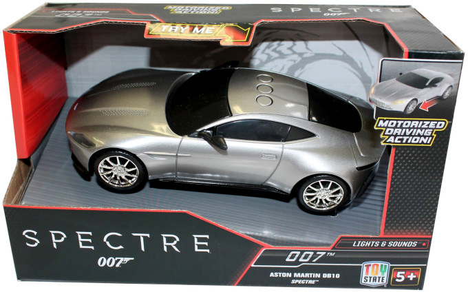A Fun Version Of The DB10 Is The 1:32 Scale Model By Toy State. The Doors  Canu0027t Open And The Windows Are Black, But It Comes With Bond Music, Working  Lights ...