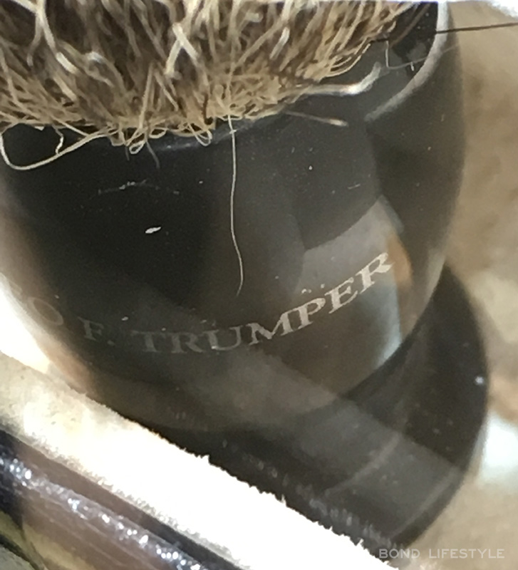 Geo F Trumper Shaving Brush SkyFall james Bond