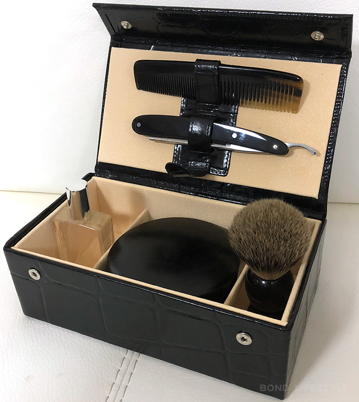 grooming set skyfall replica james bond