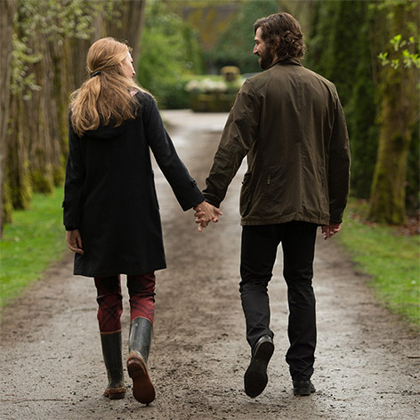 Barbour jacket Michiel Huisman Age of Adeline Blake Lively
