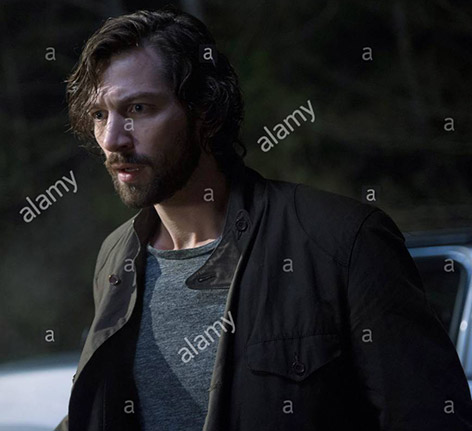 Michiel Huisman Barbour jacket Age of Adeline