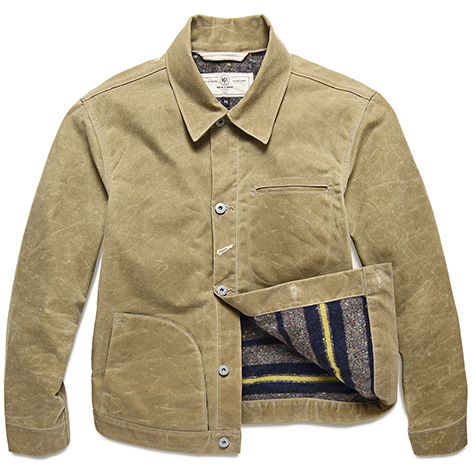 Rogue Territory Lined Waxed Ridgeline Supply Jacket