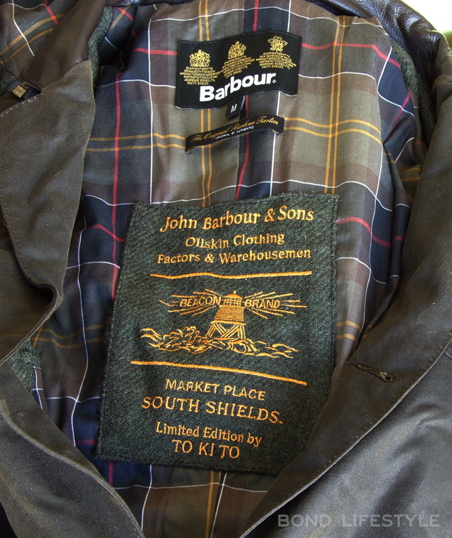 Barbour x to ki to label limited edition