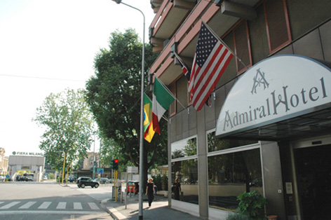 admiral hotel entrance