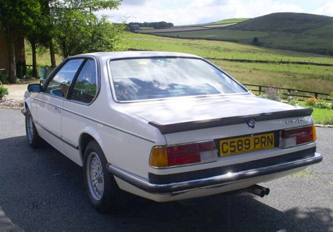 BMW 635 CSI Sean Connery Alpine White 2