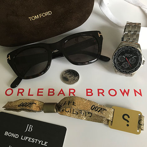 Driven 007 Spyscape New York James Bond visit Tom Ford Orlebar Brown Gold VIP