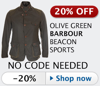 20% off Barbour Commander Beacon Sports jacket