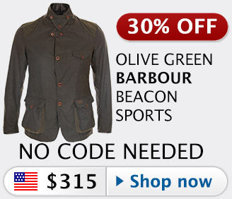 30% off Barbour Commander Beacon Sports jacket
