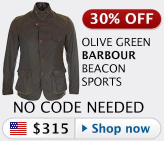 30% off Barbour Commander Beacon Sports jacket