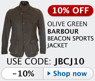 20% off Barbour Commander Beacon Sports jacket