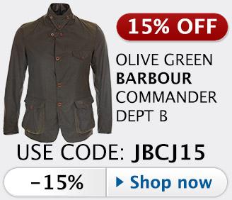 10% off Barbour Commander Beacon Sports jacket