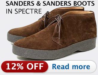 Sanders boots in SPECTRE
