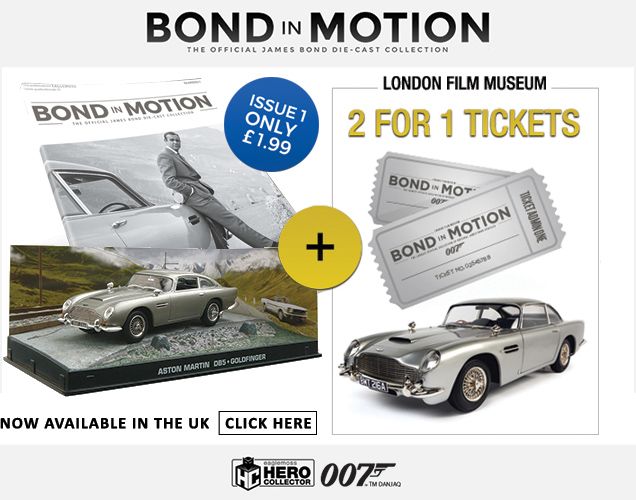 Bond in Motion Car Collection