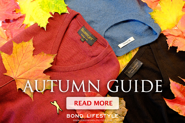 James Bond Lifestyle Autumn Guide
