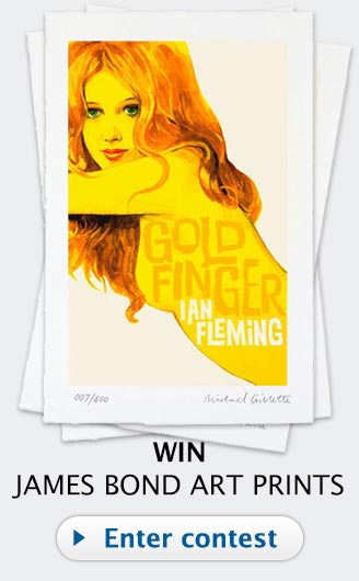 James Bond Art prints Contest