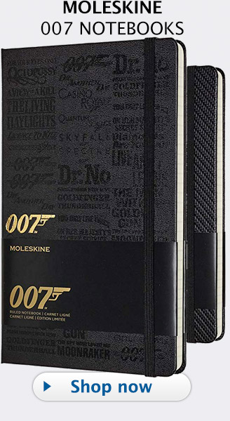 Moleskine 007 James Bond Notebook