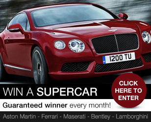 Win a supercar - click here