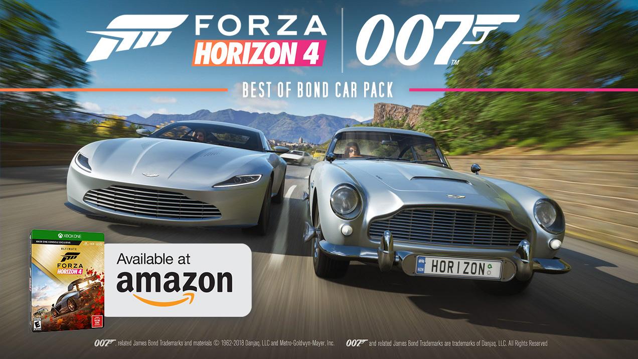 Forza Horizon Ultimate Edition 4 James Bond