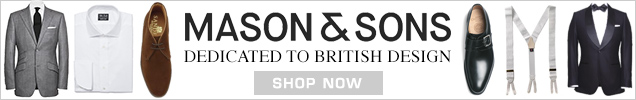 Mason Sons Dedicated to British Design