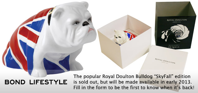 Royal Doulton Bulldog SkyFall