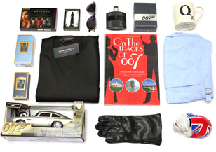 gift ideas james bond fans 2013