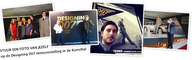 kunsthal rotterdam james bond foto