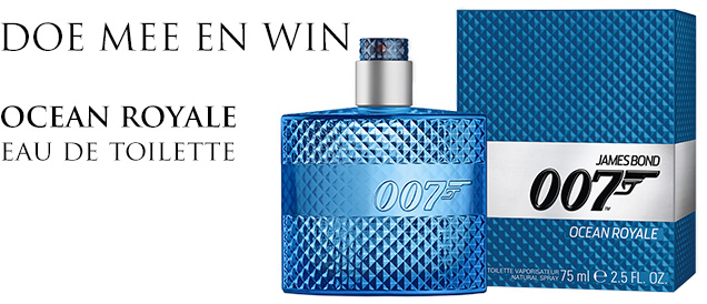 win 007 fragrance eau de toilette 75ml ocean royale