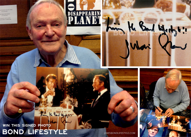Julian Glover photo autograph