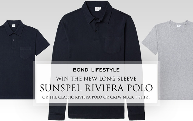 Sunspel Long Sleeve Polo